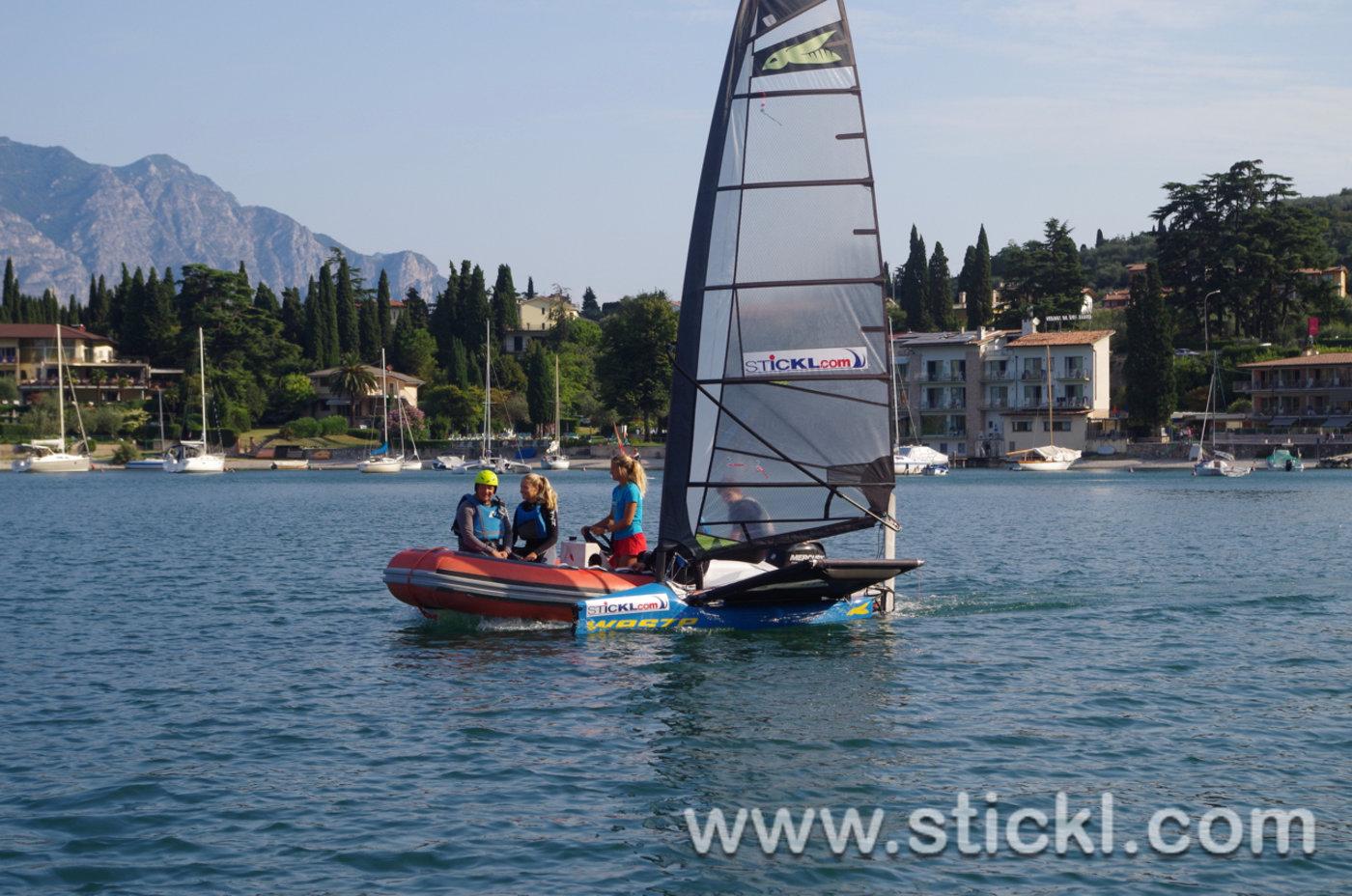 Waszp Segler und Trainerboot