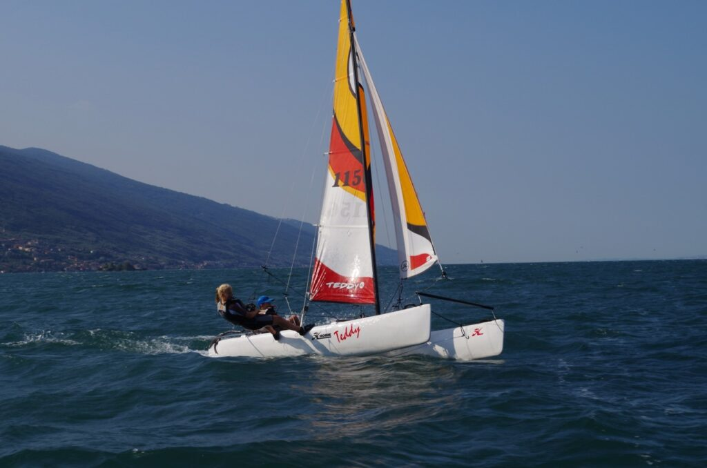 Hobie Teddy am Gardasee