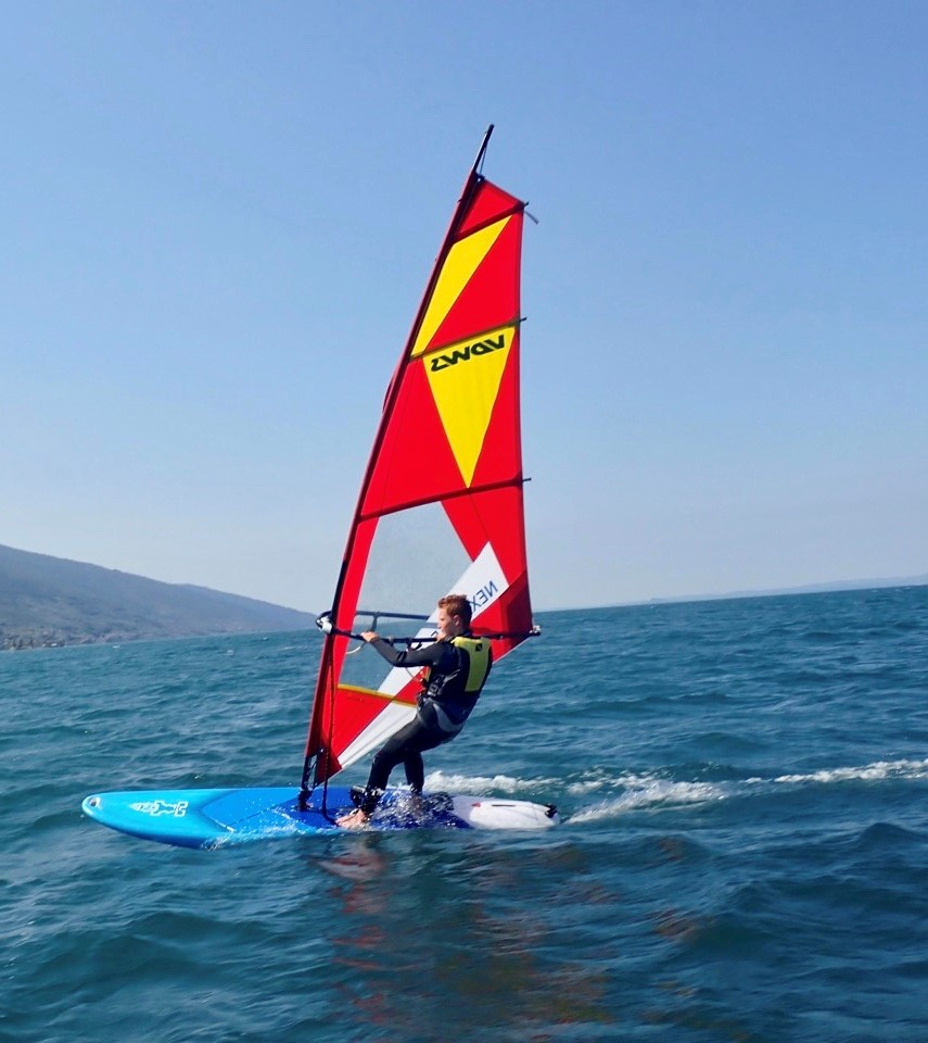 Windsurfer am Gardasee