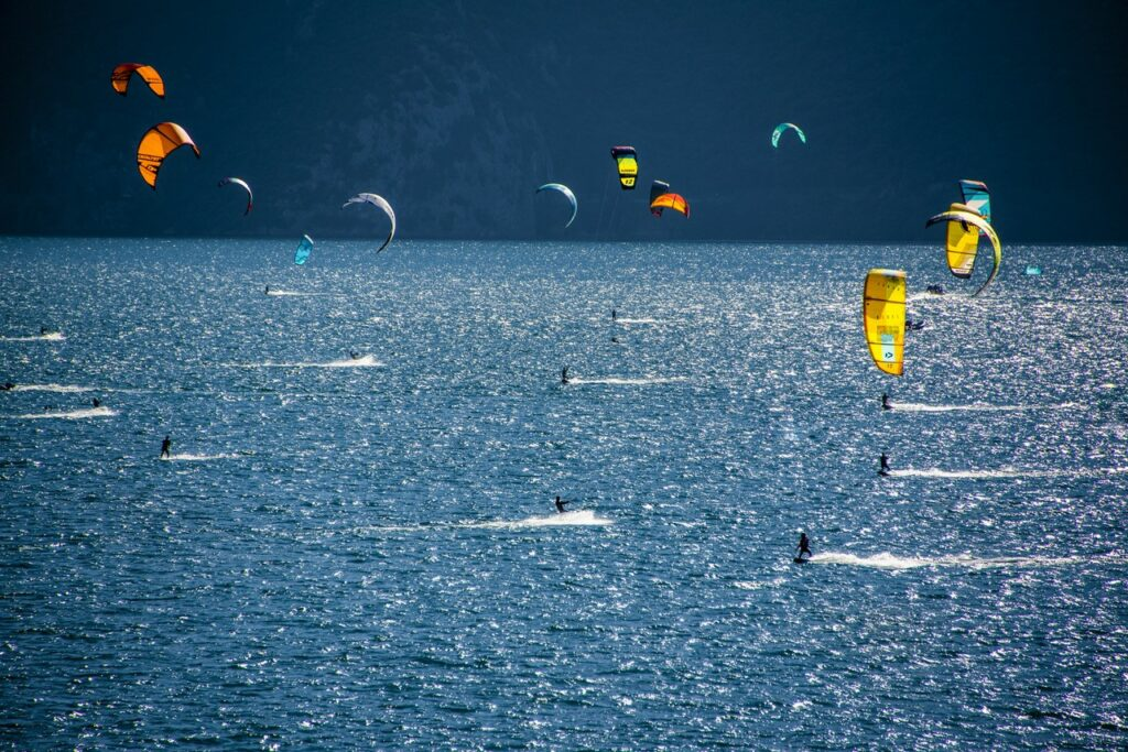 Kites am Gardasee