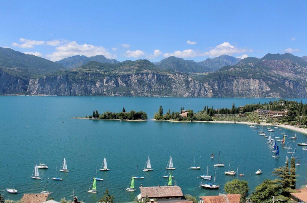 Bucht am Gardasee