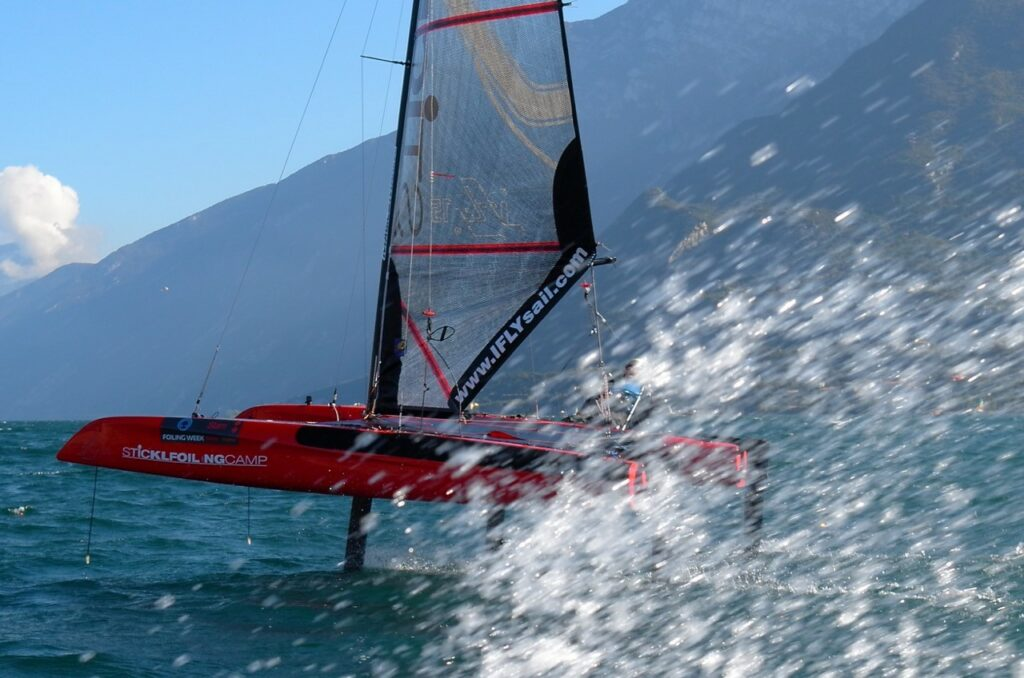Ifly 15 in Action am Gardasee