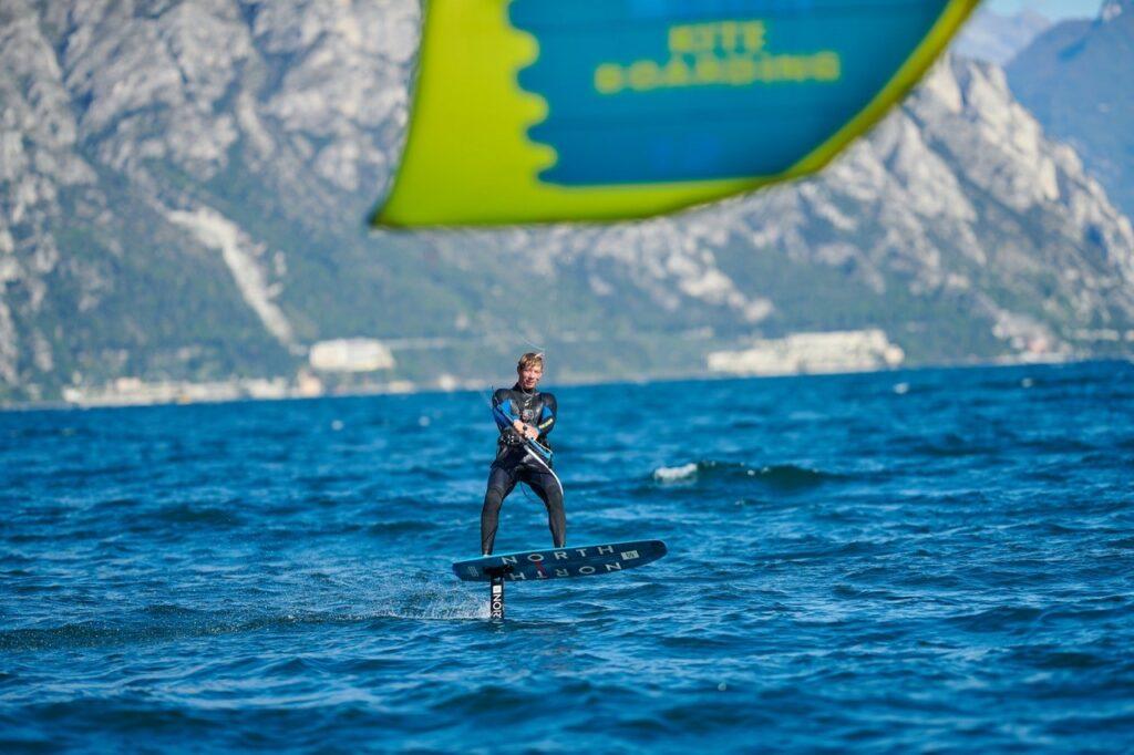 Kitefoilen am Gardasee
