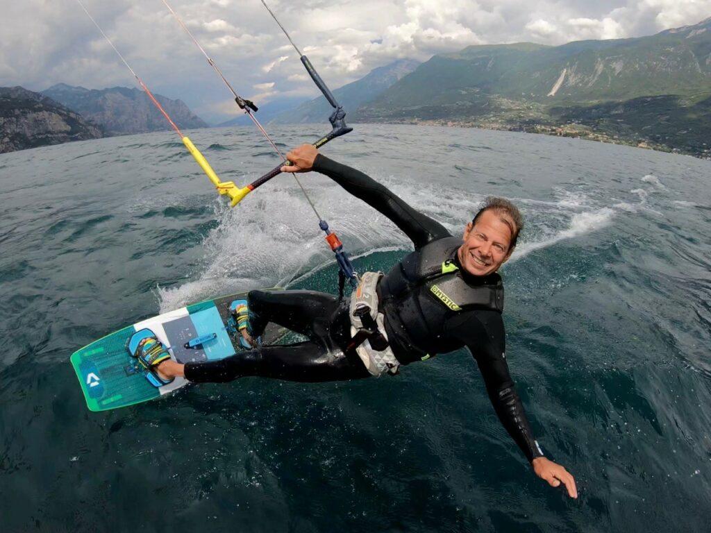 Kitesurfer Action