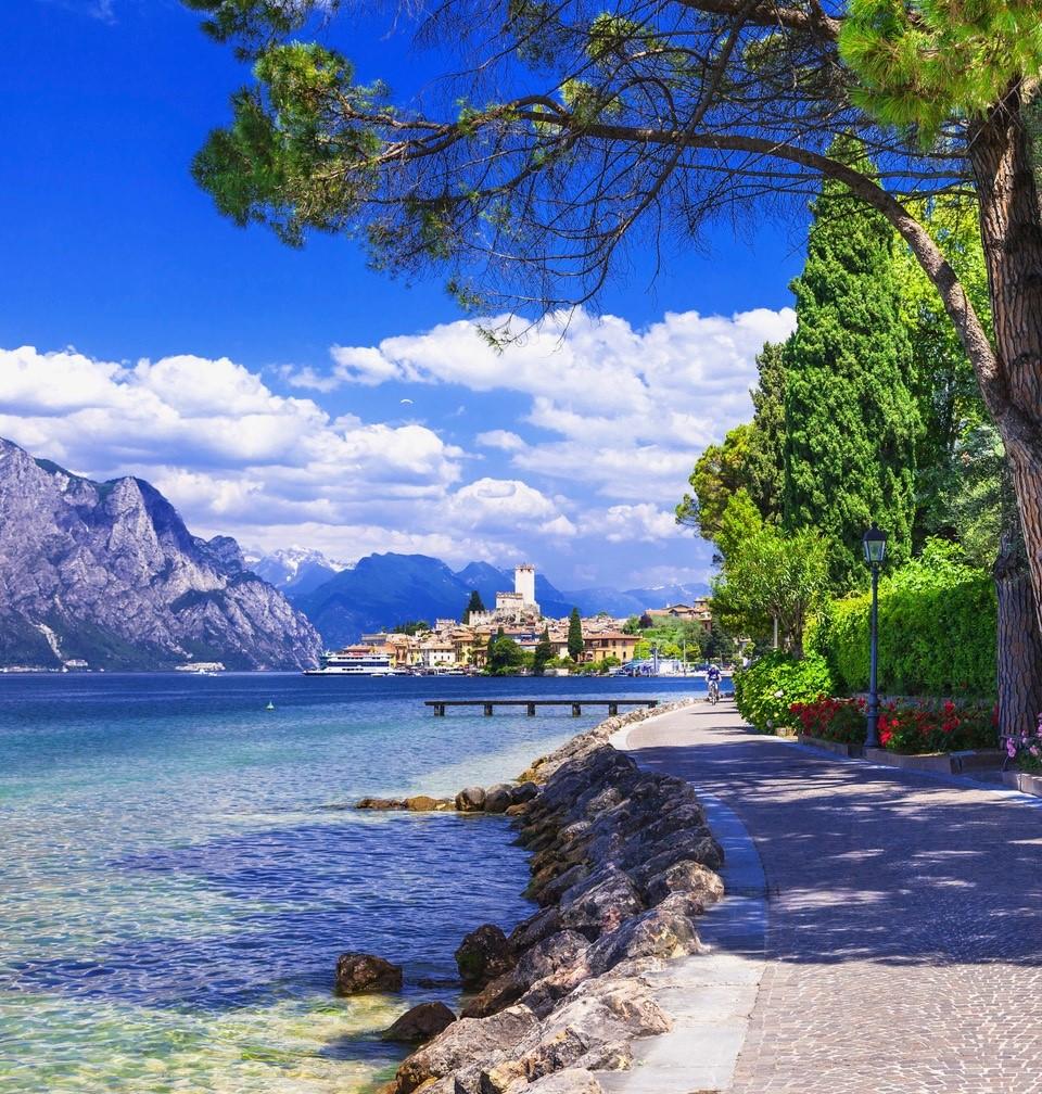 Uferpromenade von Val di Sogno nach Malcesine