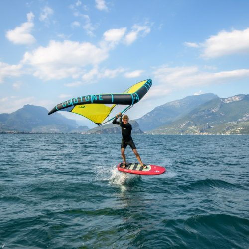 Wingfoilen am Gardasee